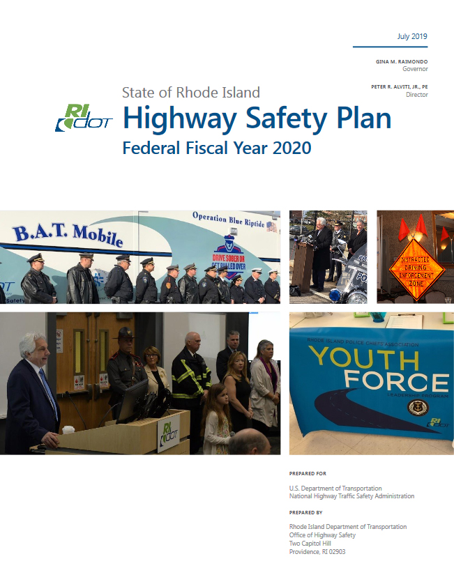 Highway Safety Performance Plan Cover