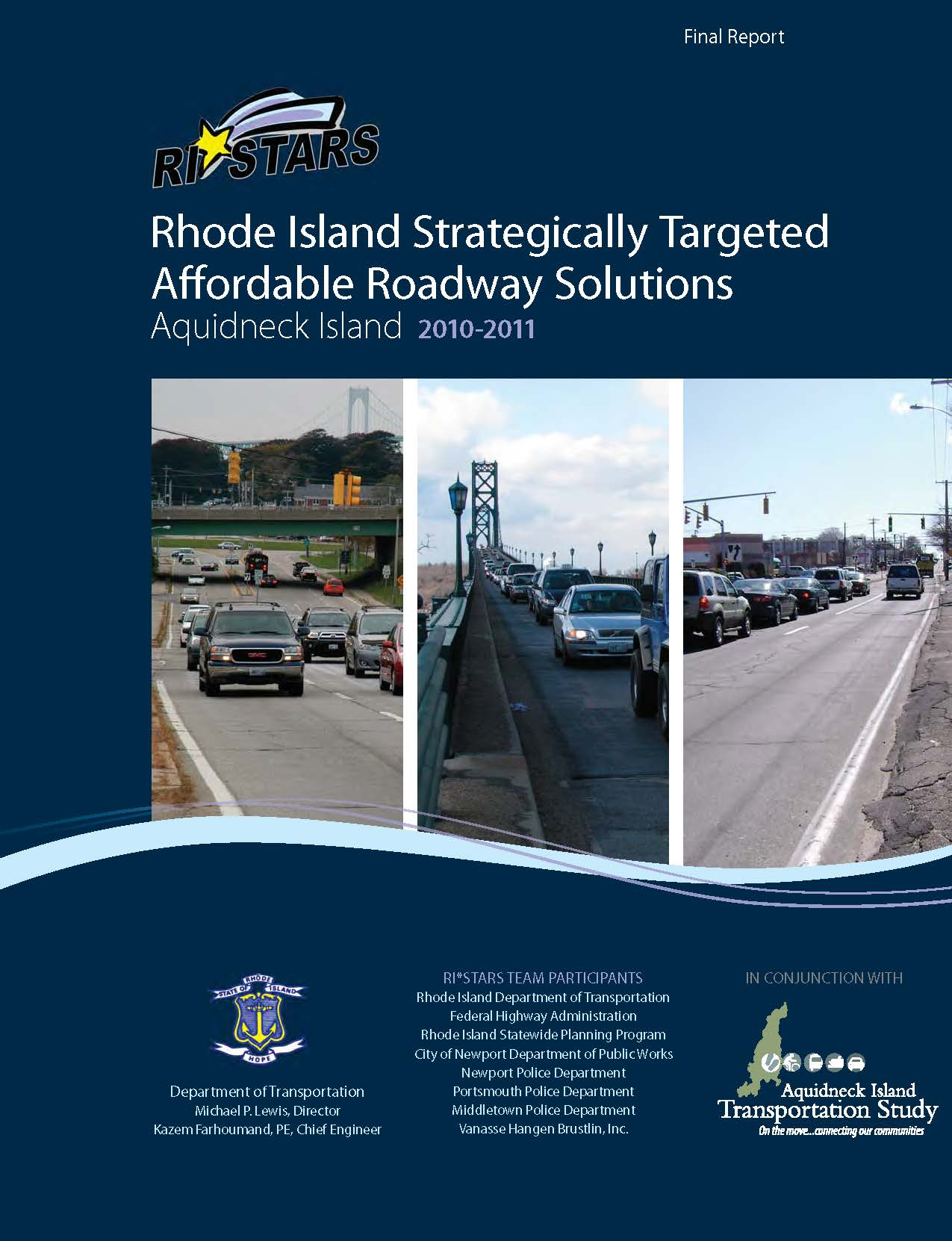 Rhode Island Strategically Targeted Affordable Roadway Solutions Cover