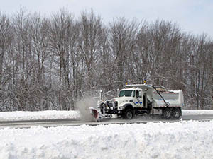 Snow Plow on I-95