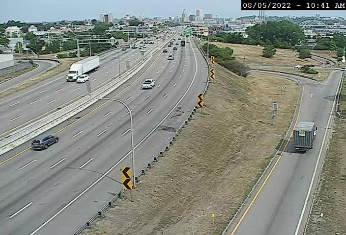 Camera at I-95 N @ Thurbers Ave