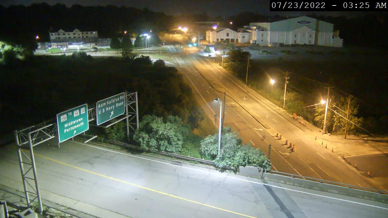 Camera at Rt 138 @ Admiral Kalbfus Newport
